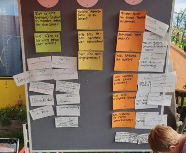 Workshop zu politischen Aktionsformen